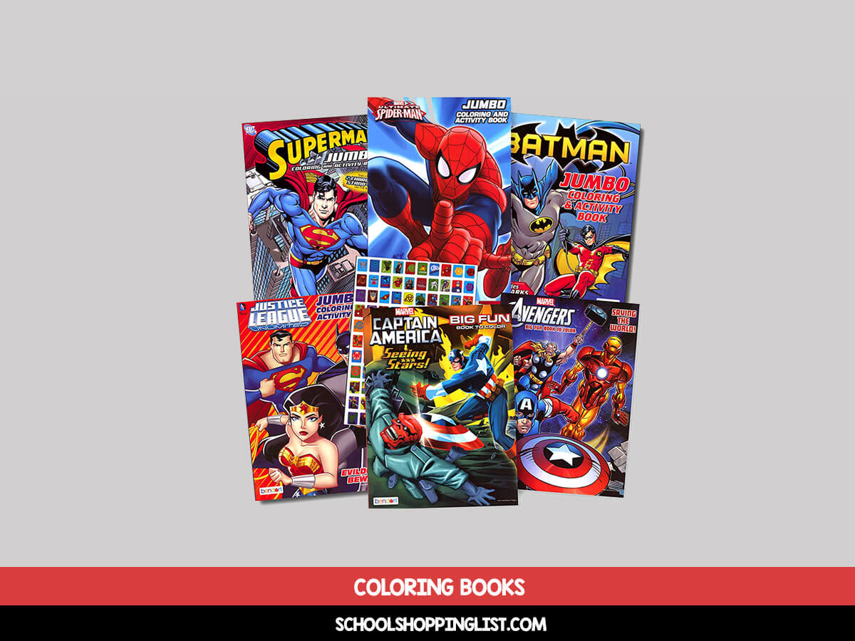 - 12 Best Coloring Books For Kids [Drawing Books]