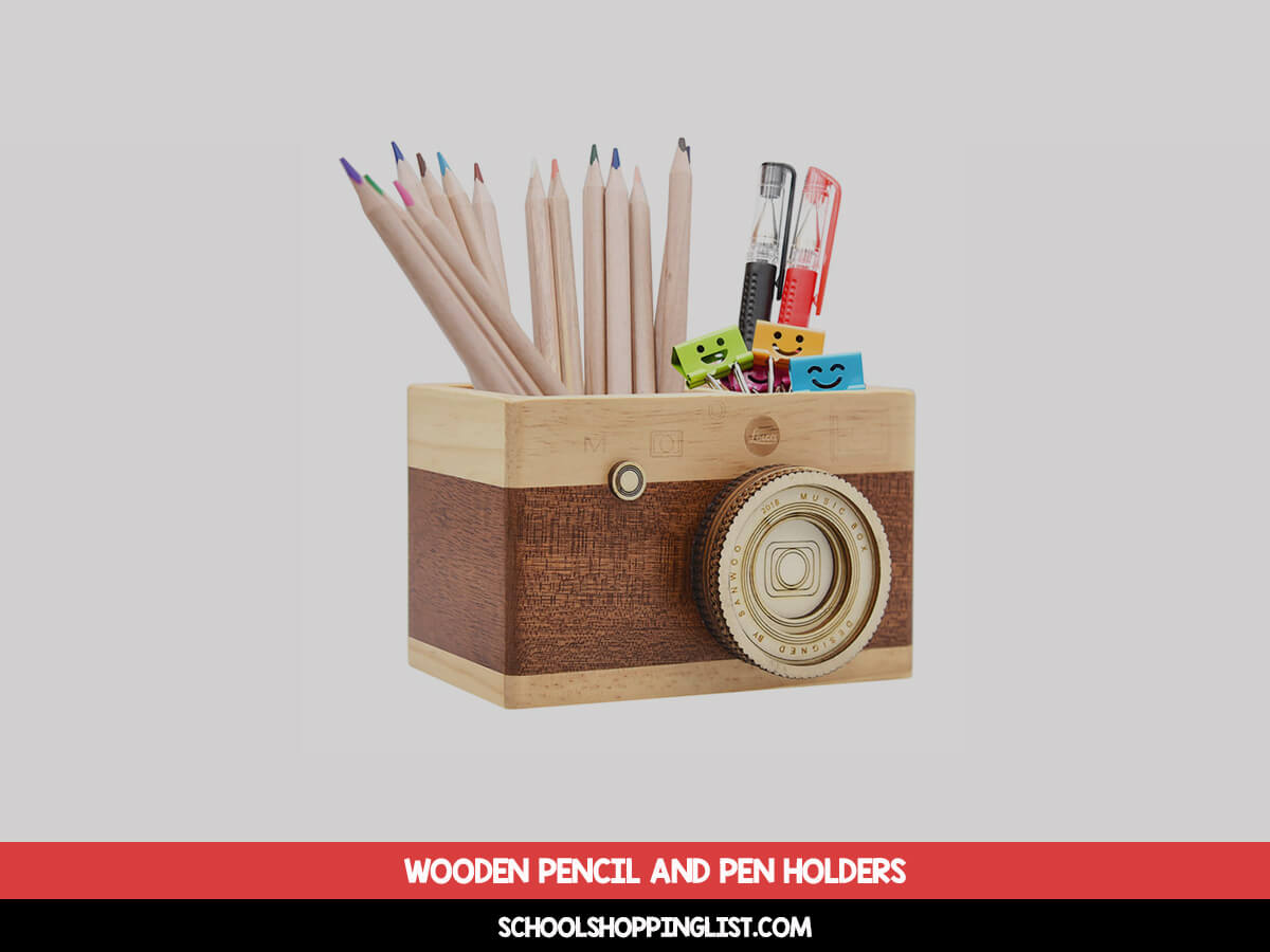 Top 35 Best Wooden Pencil and Pen Holders [350% WOOD]