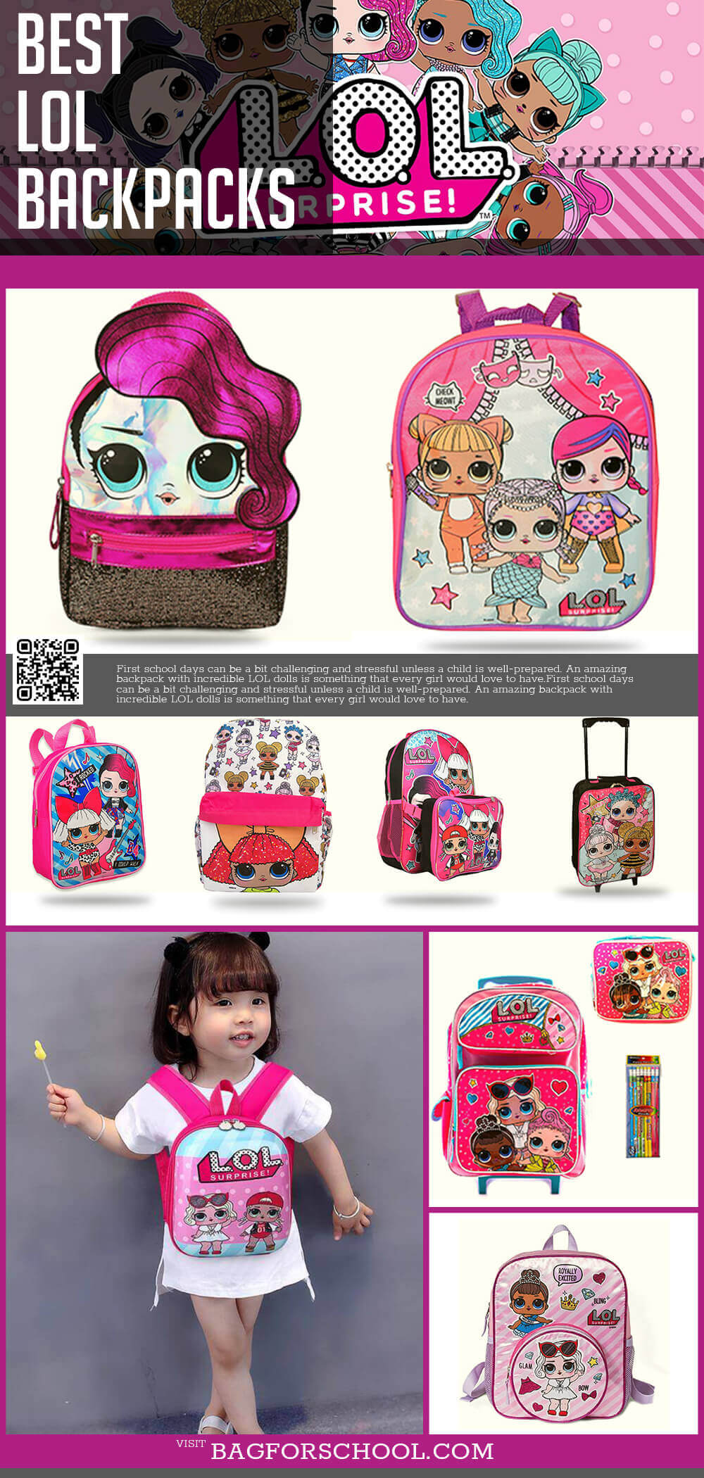 LOL Surprise Bags And Backpacks