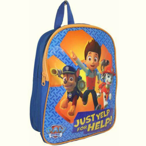 Just Yelp For Help Paw Patrol Backpack