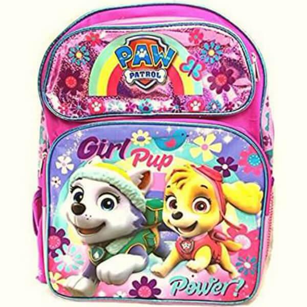 Paw Patrol Backpack – Girls Pup Power Pink
