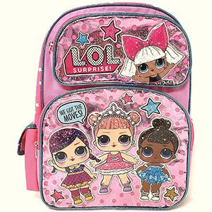 LOL Surprise Pink School Backpack