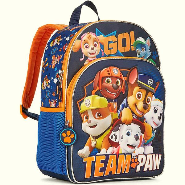 Go Team Paw Book Bag
