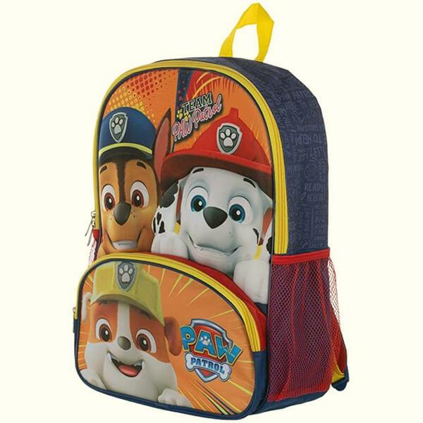 Front Pocket Paw Patrol Backpack