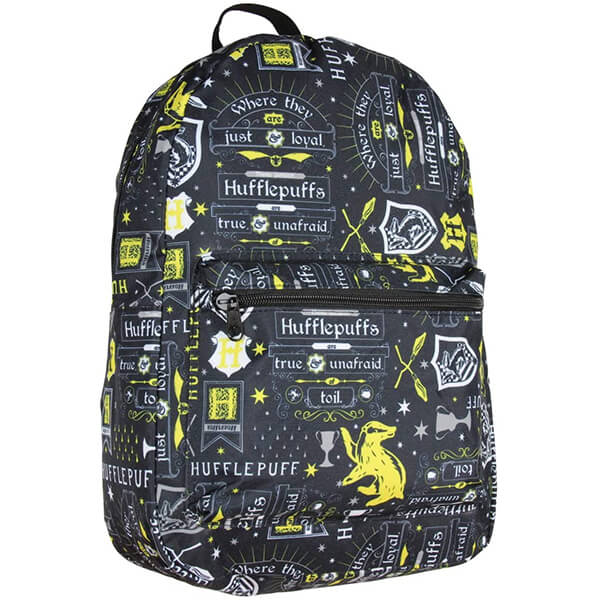 Harry Potter Hufflepuff Laptop Backpack
