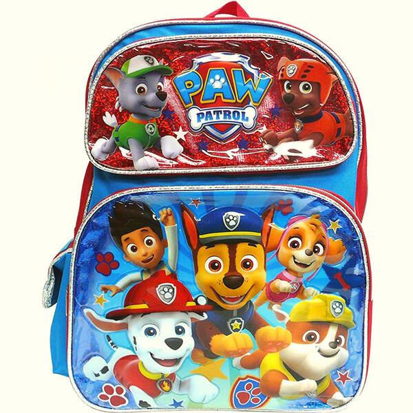 Paw Patrol Team large School Backpack