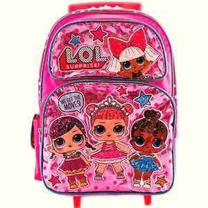 LOL Surprise School Rolling Backpack