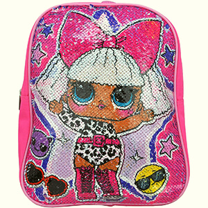 LOL Surprise Reversible Sequin Backpack