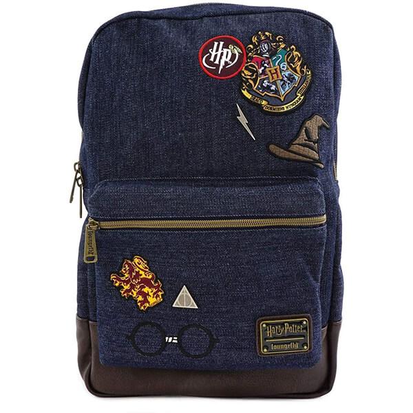 Harry Potter Denim Backpack