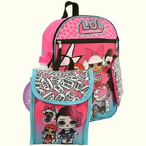 LOL Surprise 5 pc Set Backpack