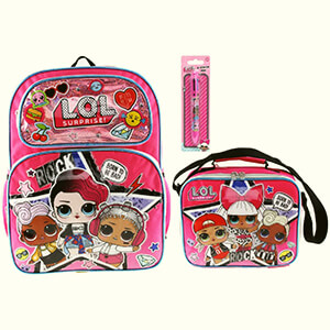 LOL Surprise Backpack and Lunch Bag