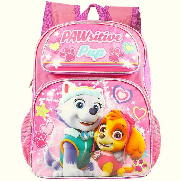 Paw Patrol Girls Pink Backpack