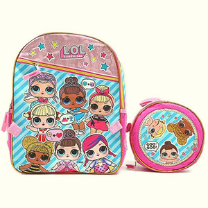 LOL Surprise Backpack with Ball Lunch Bag