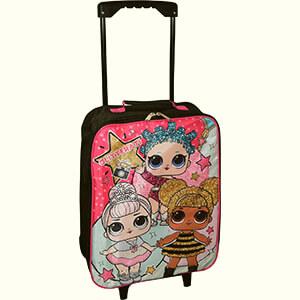 LOL Surprise Glitterati Rolling Backpack