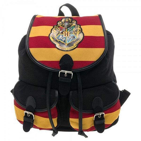 Harry Potter Backpack Crest Stripe Rucksack