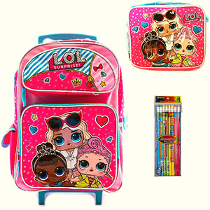 LOL Surprise Backpack with Lunch Box
