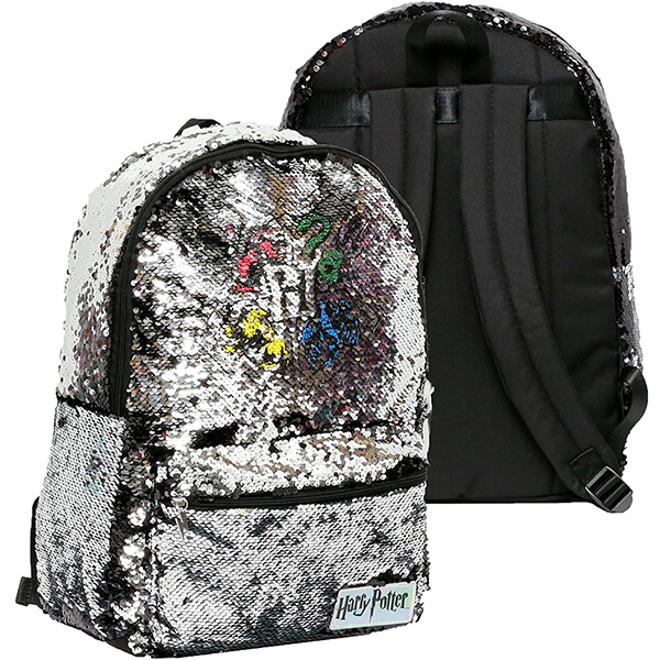 Harry Potter Backpack with Brushed Sequins