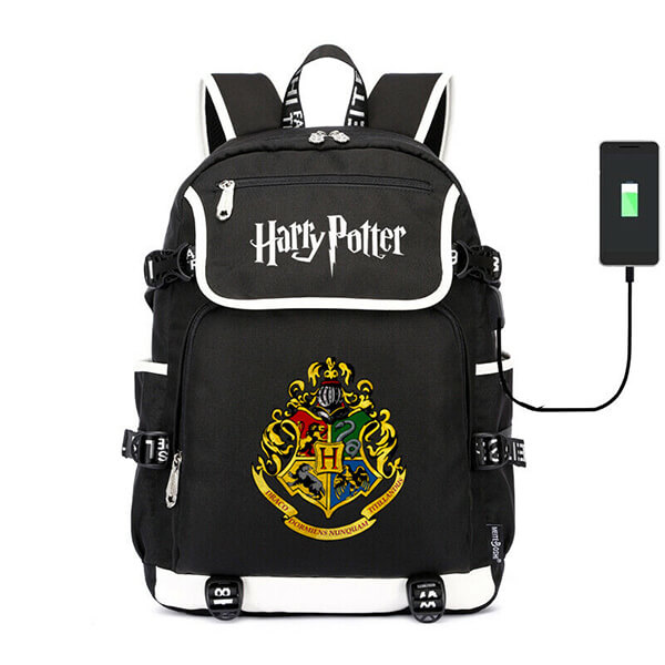 Harry Potter Hogwarts Backpack with USB charging