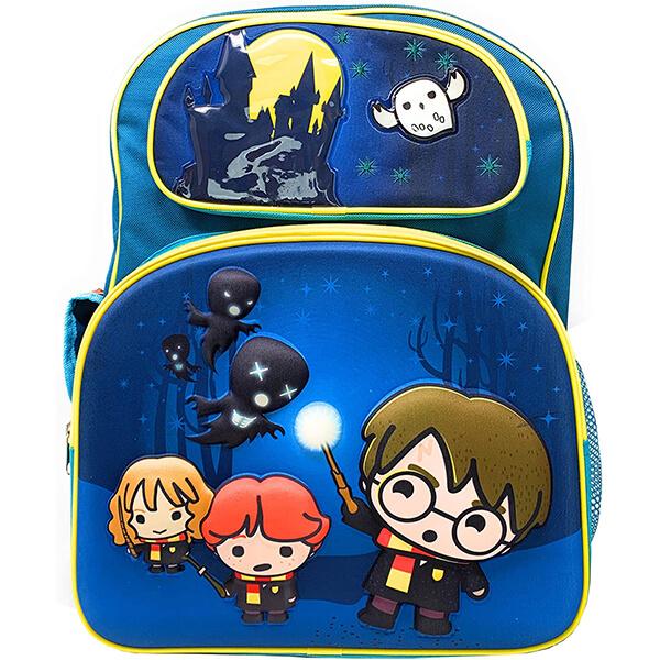 Harry Potter Chibi 3-D Teal Backpack