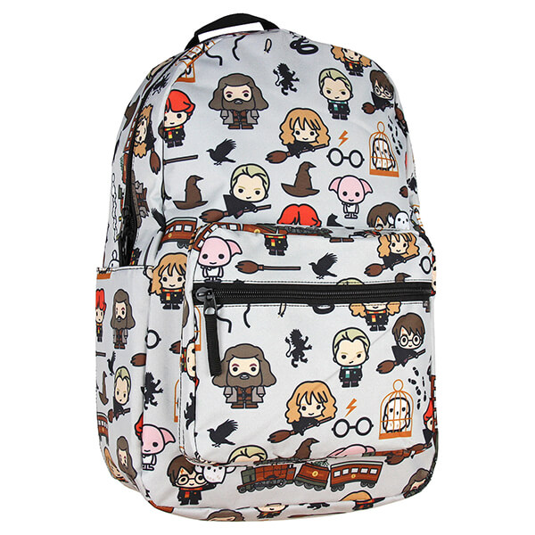 Harry Potter Chibi Characters School Backpack