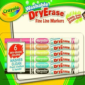 Crayola Washable Dry Erase Markers