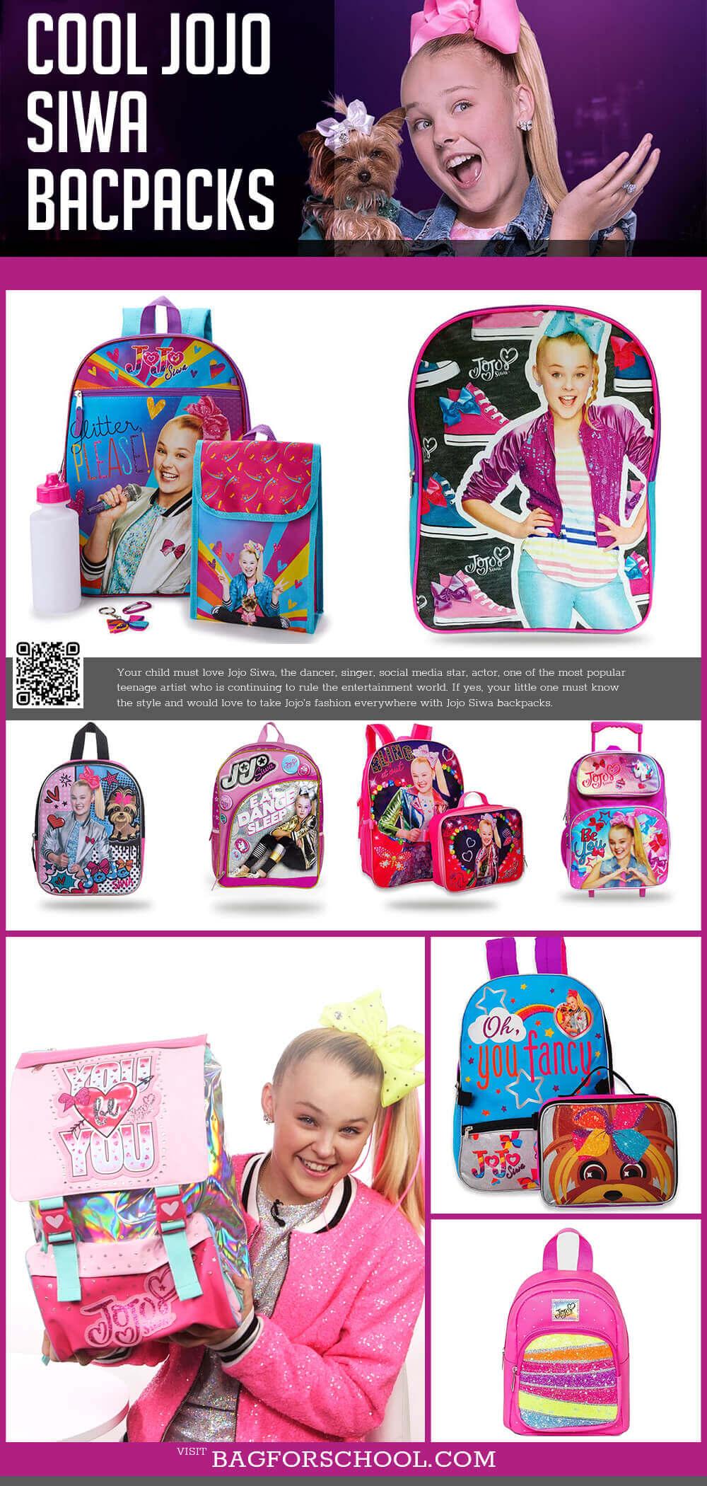 Jojo Siwa Backpacks