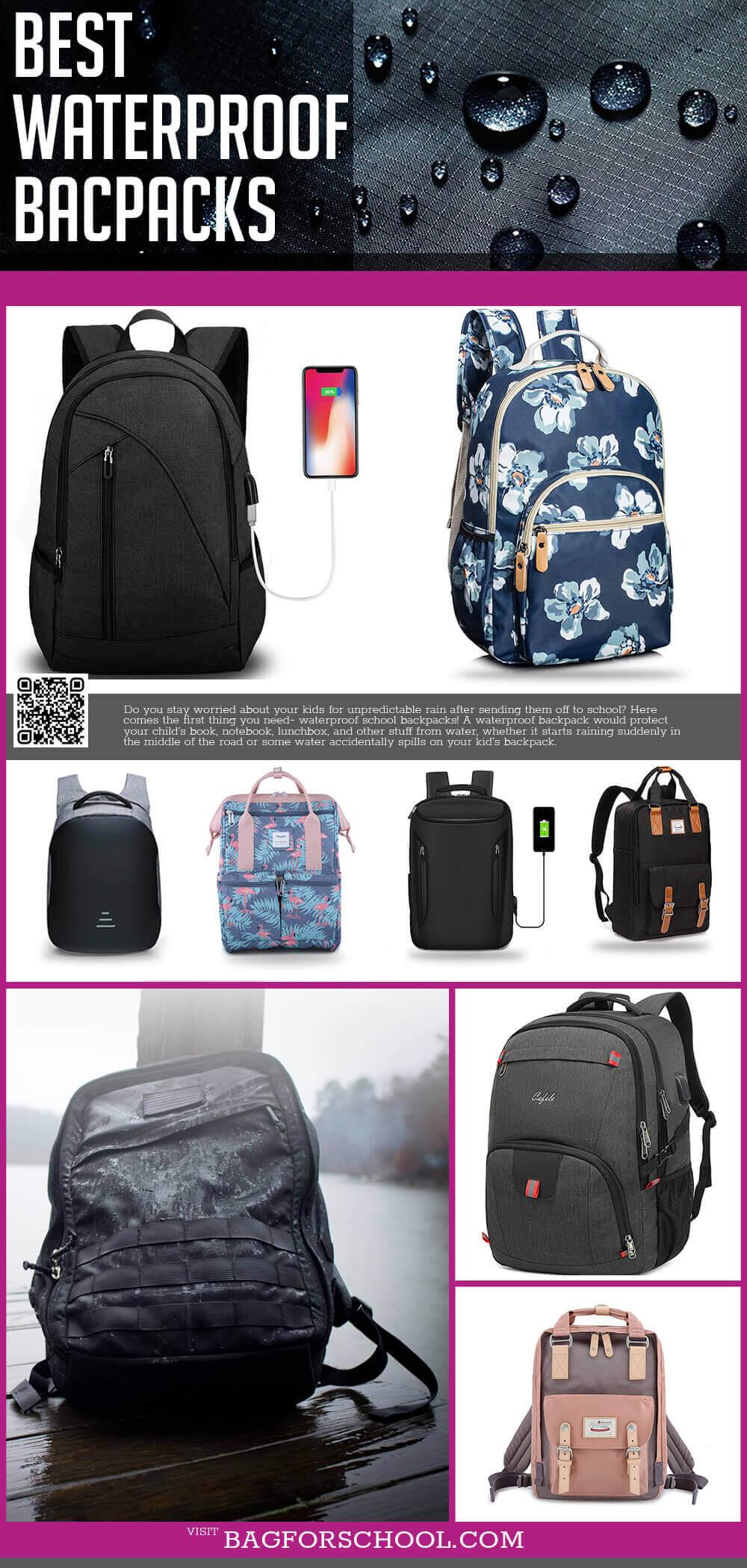 Waterproof & Resistant Backpacks