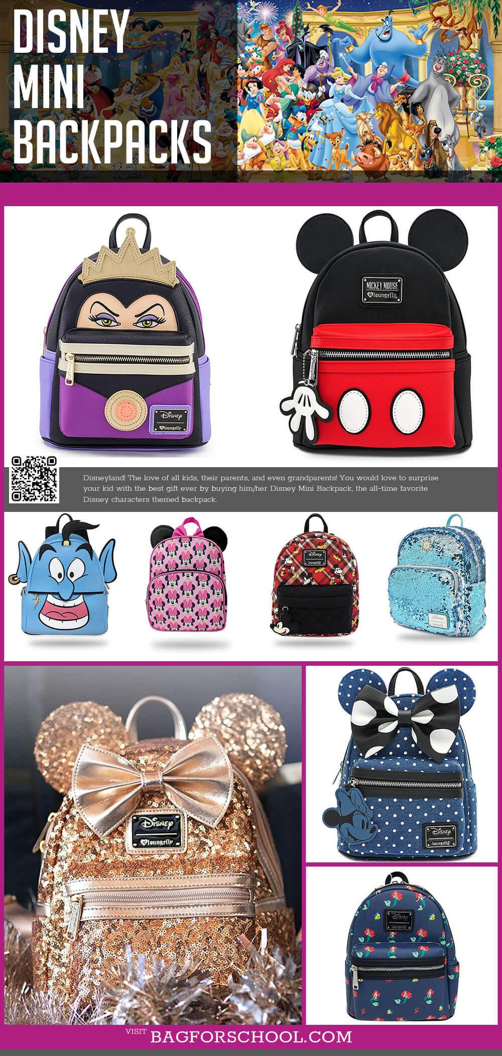 Disney Mini Backpacks