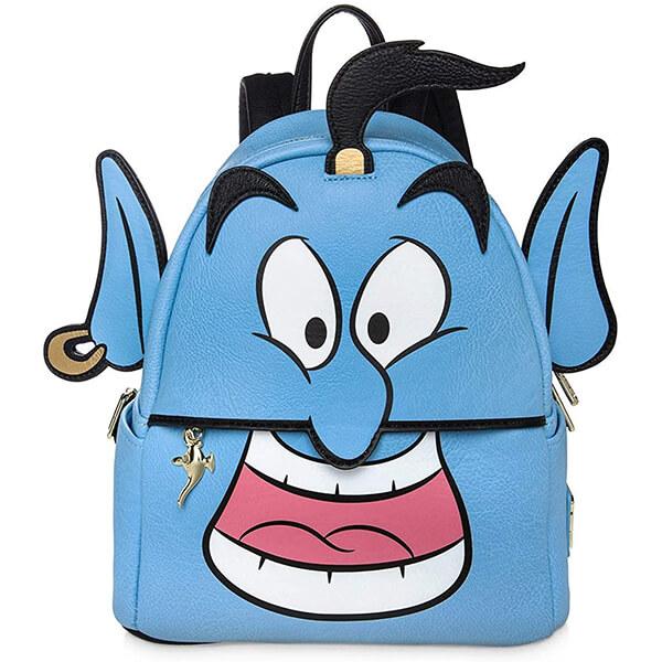 3D Aladdin's Genie Disney Mini Backpack