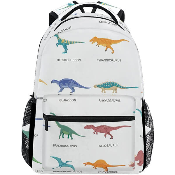 Colorful Dinosaur Backpack