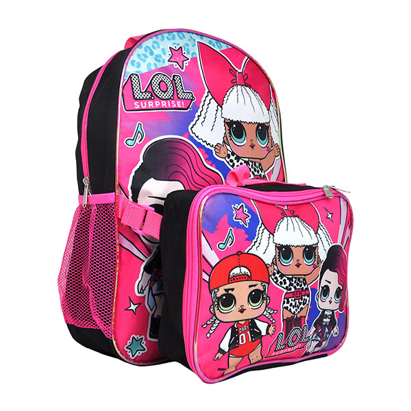 LOL Surprise! Backpack with Lunchbox