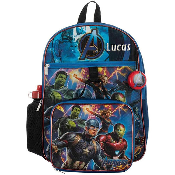 Personalized Avengers Infinity War Backpack