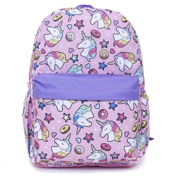 Star Donuts Girls Unicorn Backpack
