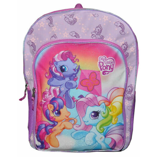 Multi-Compartment MLP Girl Backpack