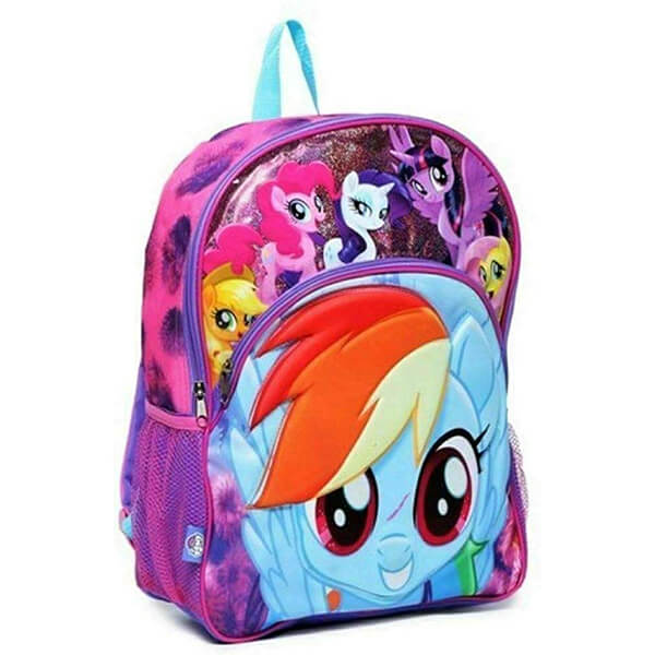 3D Molded My Little Pony Backpack