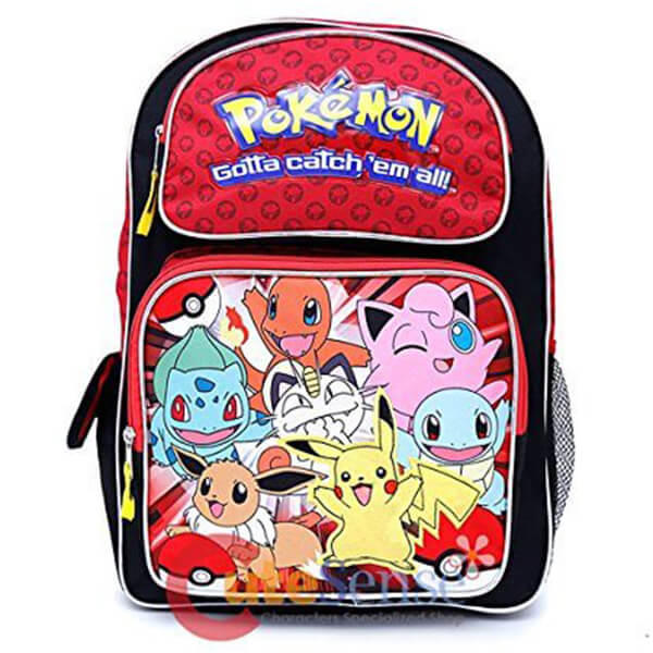 Catch'em All Pikachu Backpack