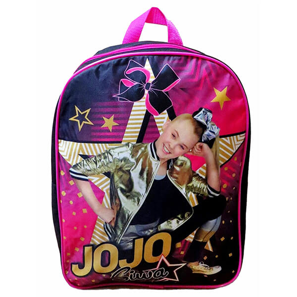 Golden Jack and Star Jojo Siwa Bookbag