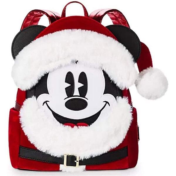 Santa Mickey Mouse Mini Backpack
