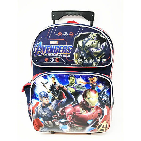 Comics Avengers Endgame Marvel Trolley Backpack
