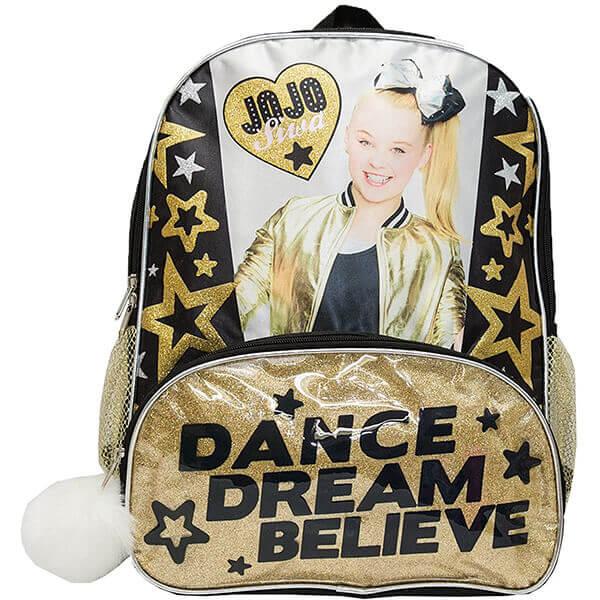 Jojo Siwa Black Star Dream Backpack