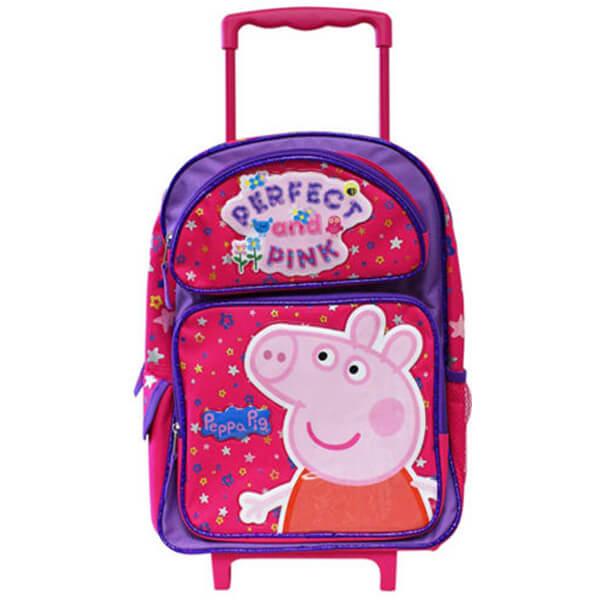 Peppa Pig Kids Roller Backpack