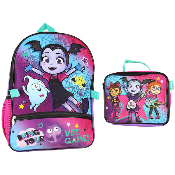 Disney Vampirina Backpack Lunch Bag