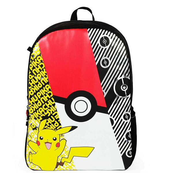 Pikachu from Pokeball Pokemon Backpack