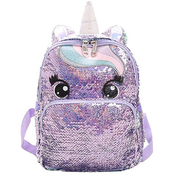 Beautiful Eyes Girls Unicorn Backpack