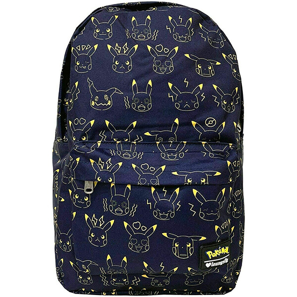 Pokemon Pikachu Scratch Expression Backpack