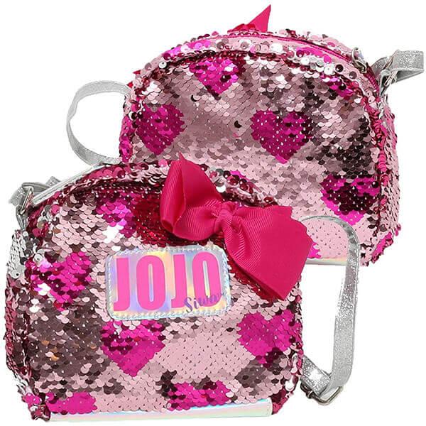 3D Pink Bow Jojo Siwa Crossbody Bag