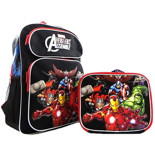 Iron Man Hulk Thor Assemble Avengers Endgame Backpack