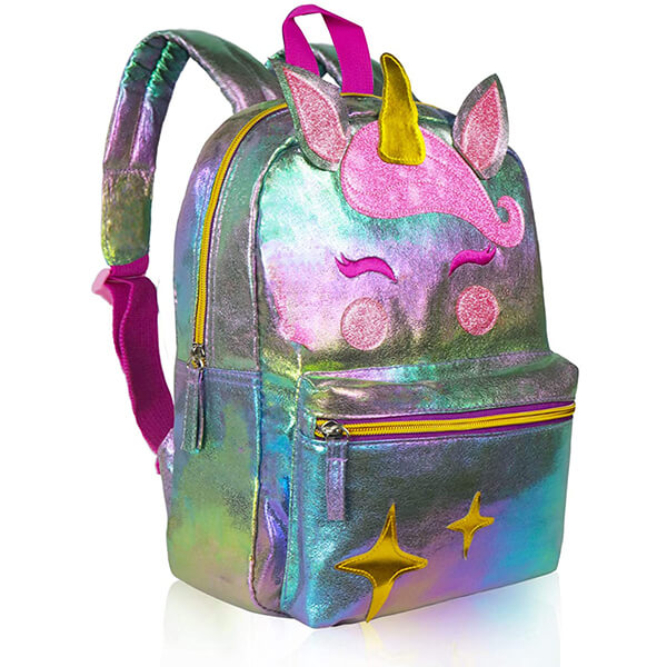Magical Sparkle Waterproof Unicorn Backpack for School
