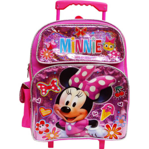 Minnie Mouse Kids Rolling Backpack