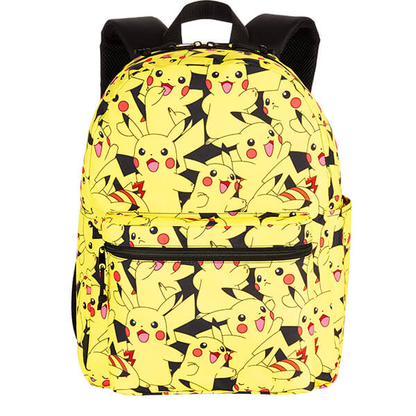 Yellow Pikachu Character Backpack